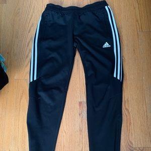 Adidas clima cool zip ankle tiro joggers sz M
